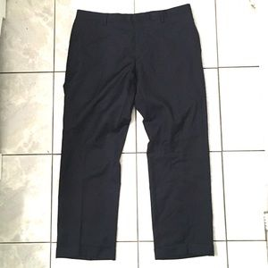 Burberry London Mens Navy Straight Dress Pants